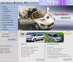 web interface for a car dealer by vinkrins