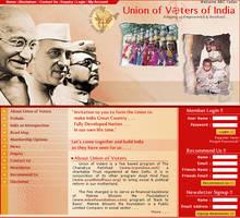 web interface, patriotic, by vinkrins