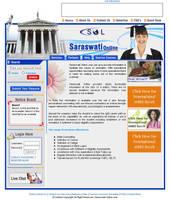 Saraswati Online Web Interface by vinkrins