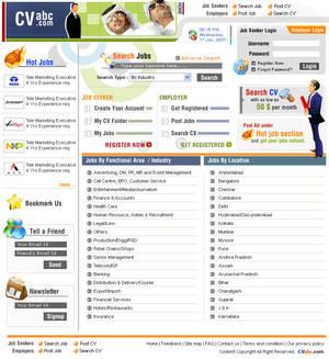 CV Abc, Job Portal