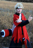 Thumbs up like Naruto by Mimixum
