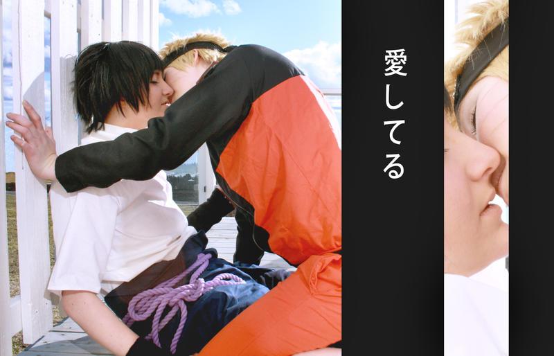 SasuNaru -  I love you by Mimixum