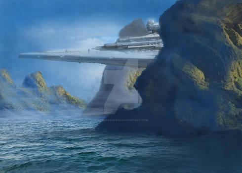 Star Destroyer Concept Art