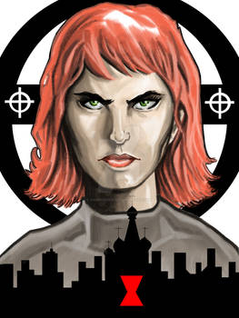 Black Widow-illustration