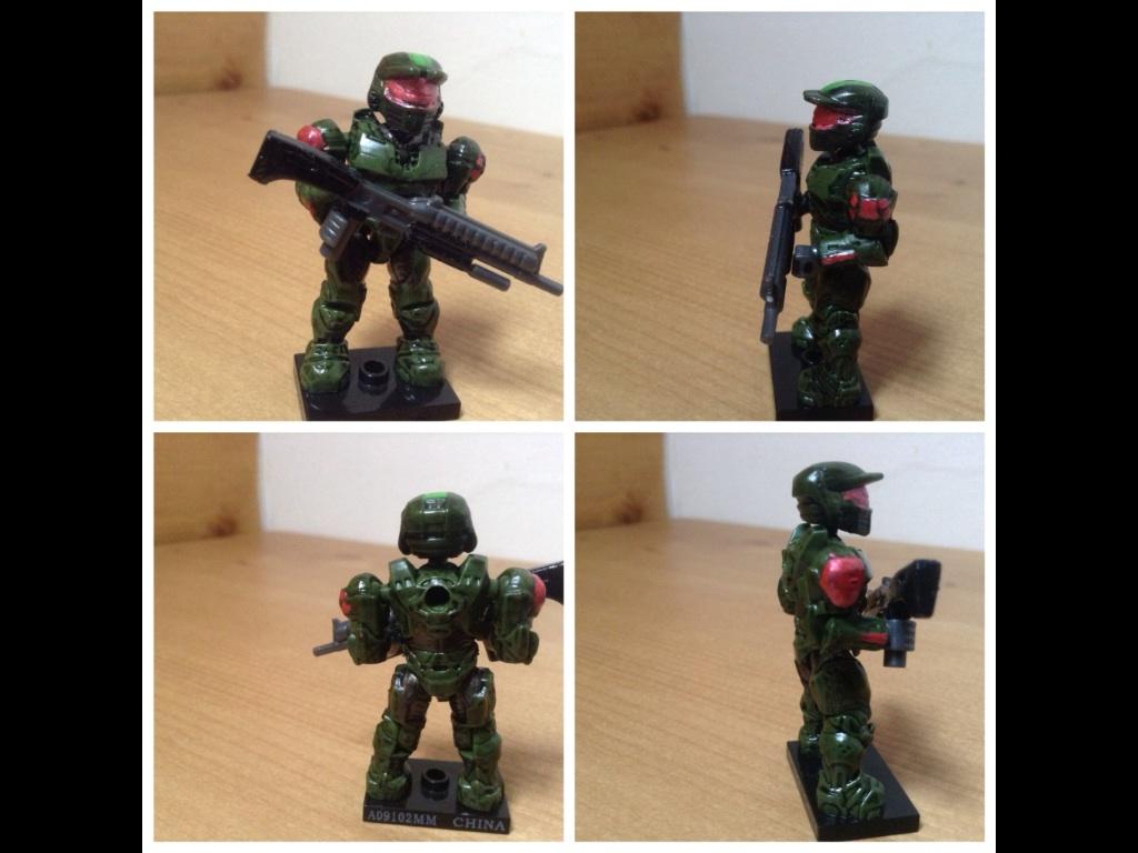 Halo mega bloks custom spartan figure by specter123456789 on