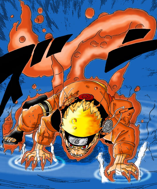 Naruto rencontre kyubi