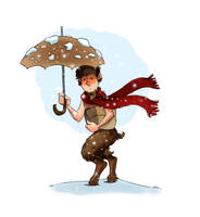 Mr Tumnus by pjillustrator