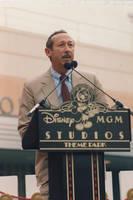 Roy Disney by pjillustrator