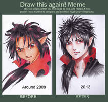 Meme  Before And After by Ritusss