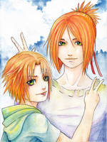 Youko brothers by Ritusss