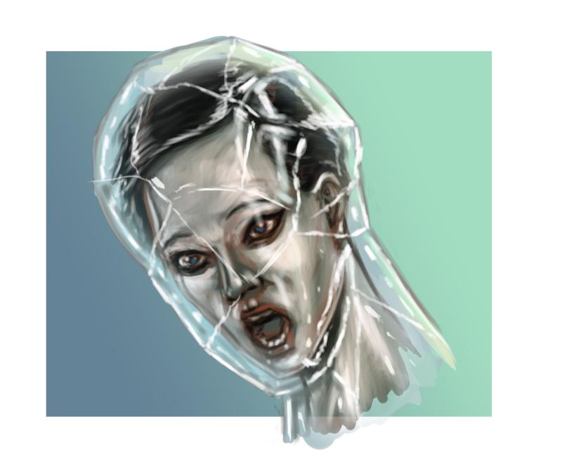 Encased in Crystal by DreampaintLoon