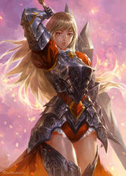 Fantasy Girl 2 by kamiyamark