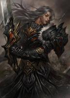 Swordman by kamiyamark