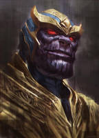 Thanos by kamiyamark
