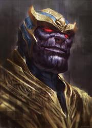Thanos by kamiyamark