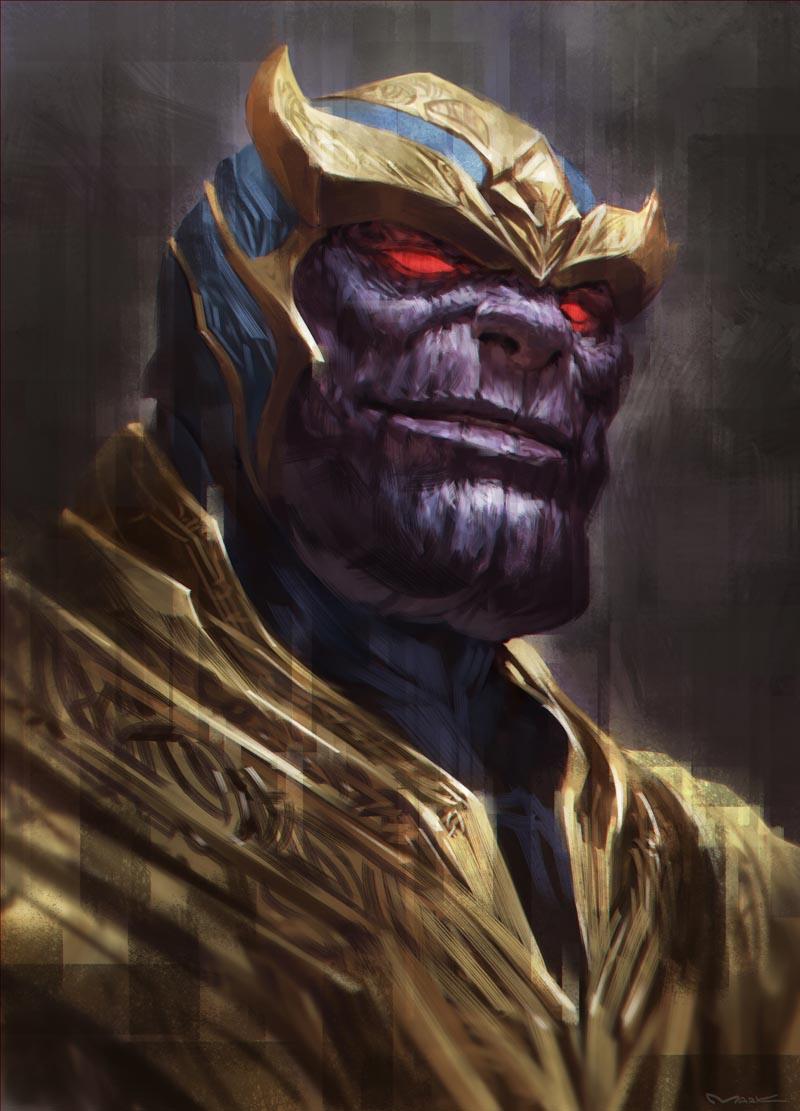 Anime Characters Vs Thanos : Thanos by kamiyamark on deviantart