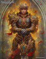 Holy Lord Althaine by kamiyamark