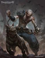 Ajeel of the Dark Rein by kamiyamark