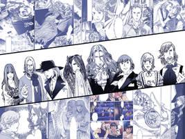 Gankutsuou manga collage