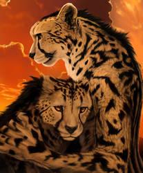 Fiery Embrace by Shapooda