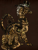 Steampunk Dragon by Shapooda
