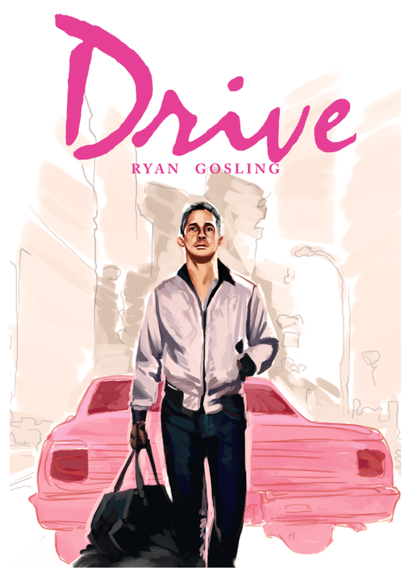 Drive poster by Blackpassion777
