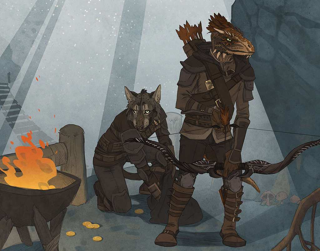 Cave Hunters by Blackpassion777
