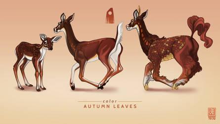Autumn Leaves Exclusive Deer