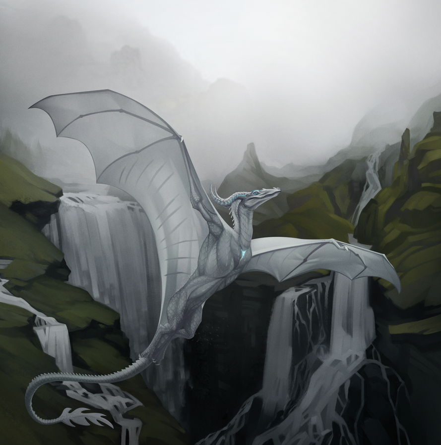 Waterfalls by Blackpassion777