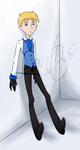 Tuxedo Cadet by iLantiis