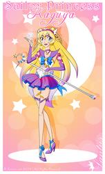 Sailor Princess Kaguya by iLantiis
