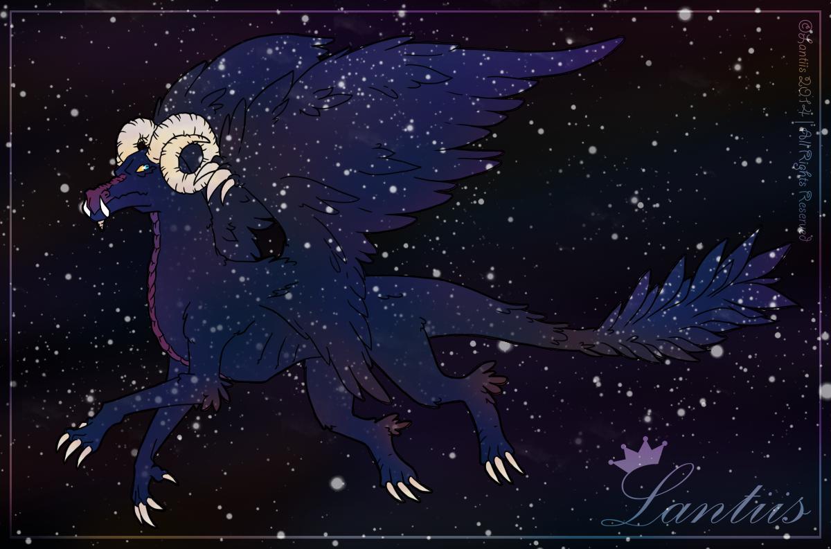 Cosmic Dragon by iLantiis