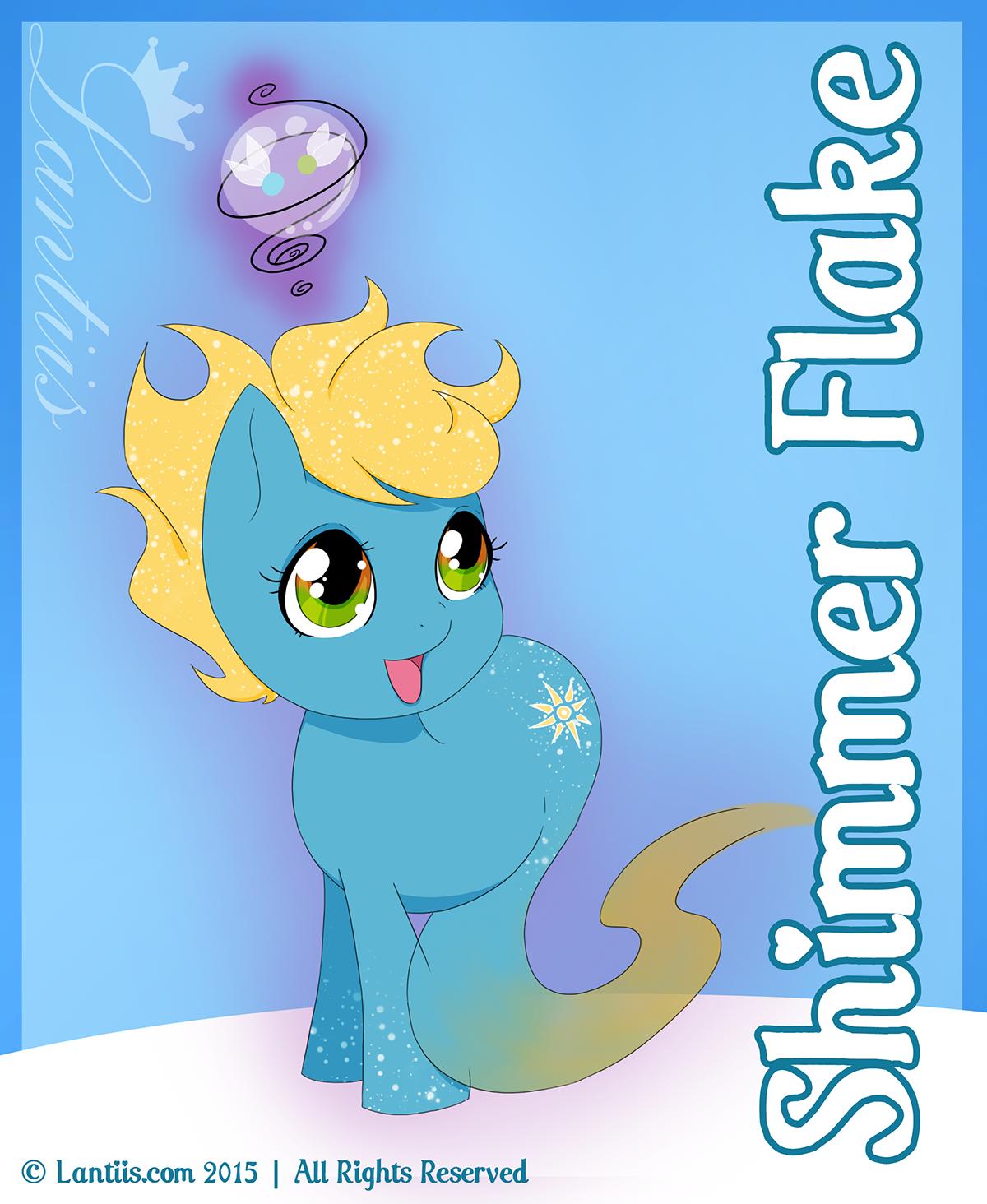 Wypsony Fairy Keeper: Shimmer Flake by iLantiis