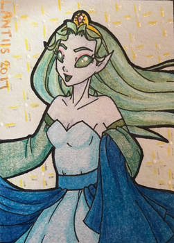 Pakkeli Princess ACEO