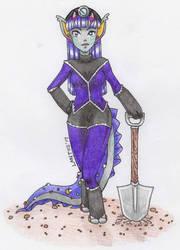 Marta the Miner by iLantiis