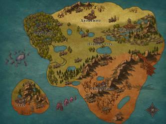 Map of Ambaran by MamaLantiis