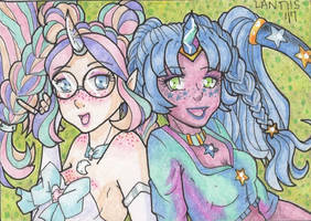 ACEO for Stefbani 2018-2 by iLantiis