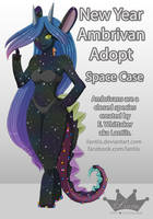 CLOSED AUCTION RADIENT Rare Adopt: Space Case by iLantiis