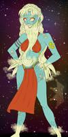 Belinda the Bearded Lady by iLantiis