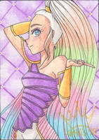 Giving 2018: ACEO for MagicalCrystalWings by iLantiis