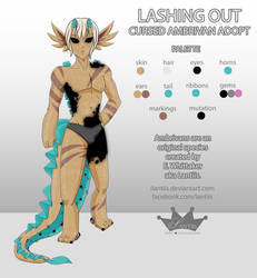 CLOSED: Cursed Ambrivan - Lashing Out (Male) by iLantiis