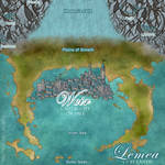 LEMEA: Island of Vale Map by MamaLantiis