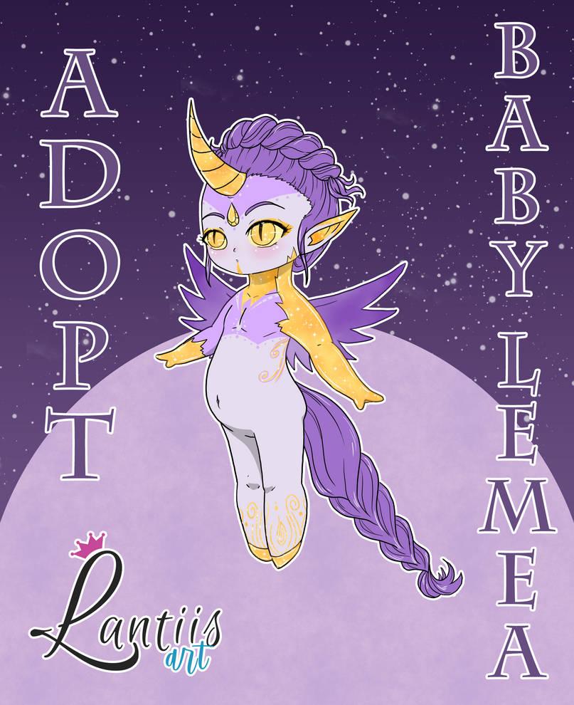 CLOSED Adopt: Baby Girl Lemea