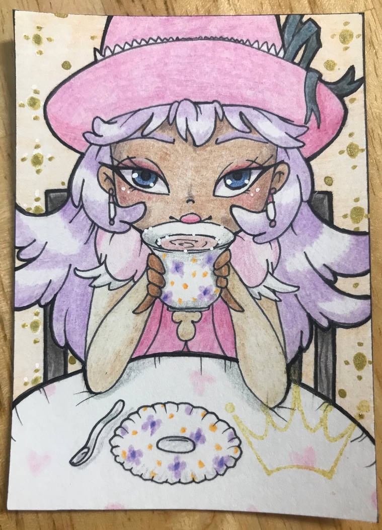 ACEO Exchange: Antoinette