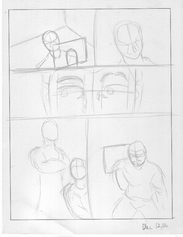Old Page Layout by ChaosBurnFlame
