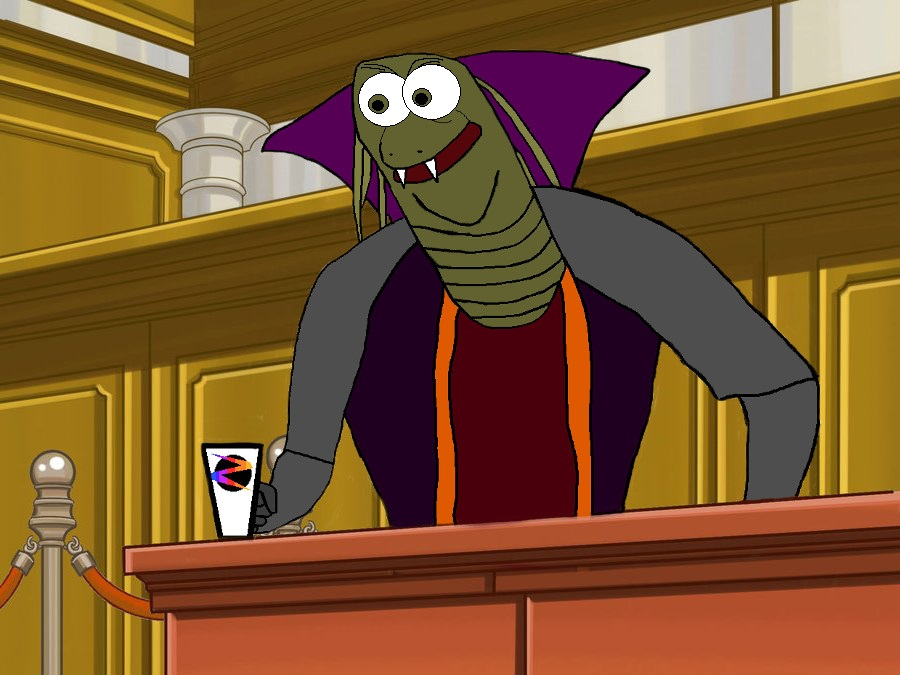 Ziltoid The Omniscient - Prosecutor At Law by Akriloth2160