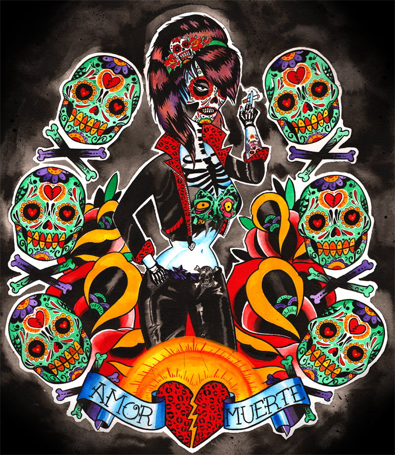 Amor Y Muertos by MummysLittleMonster