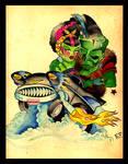 Hot Roddin' Psychos by MummysLittleMonster