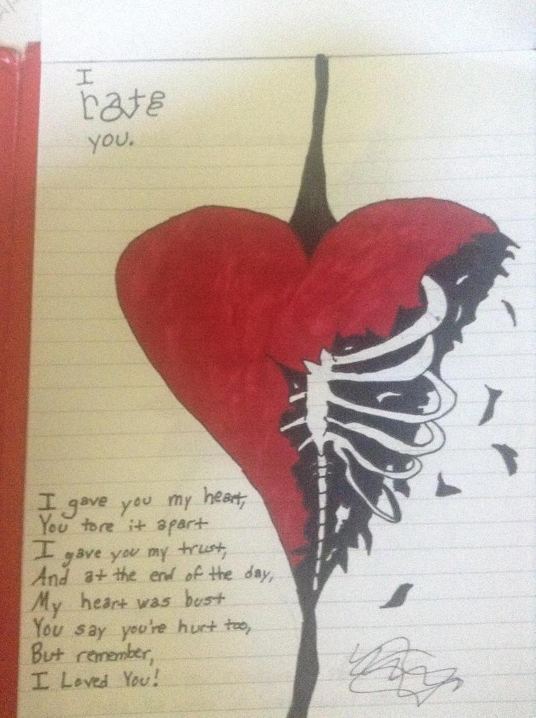 I Hate/Love You by DaKurlzzFan