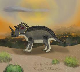 Ferraceratops for Dinalfos5